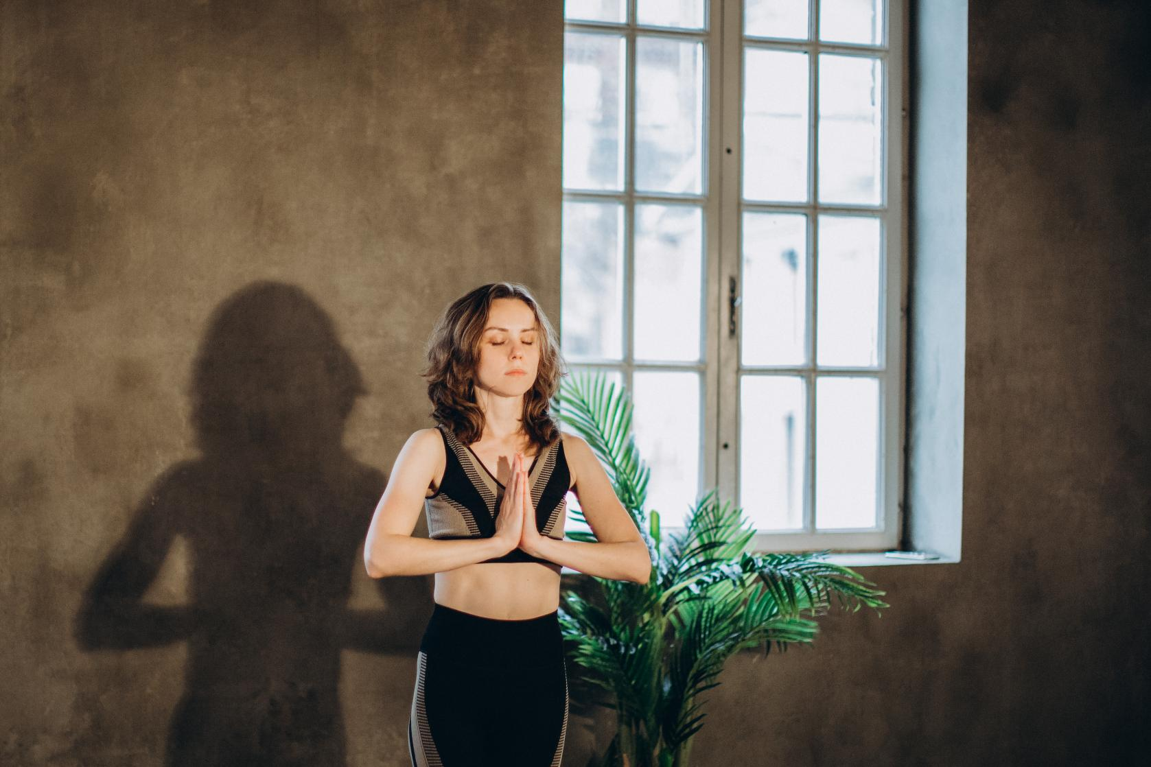 Canva Woman Practicing Yoga